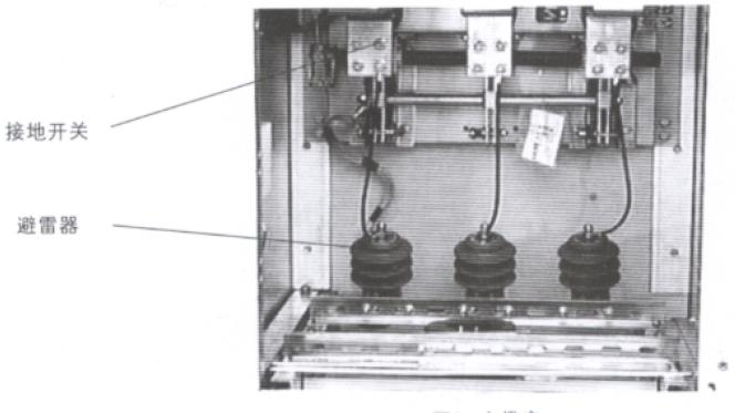 10kv高压避雷器接线图