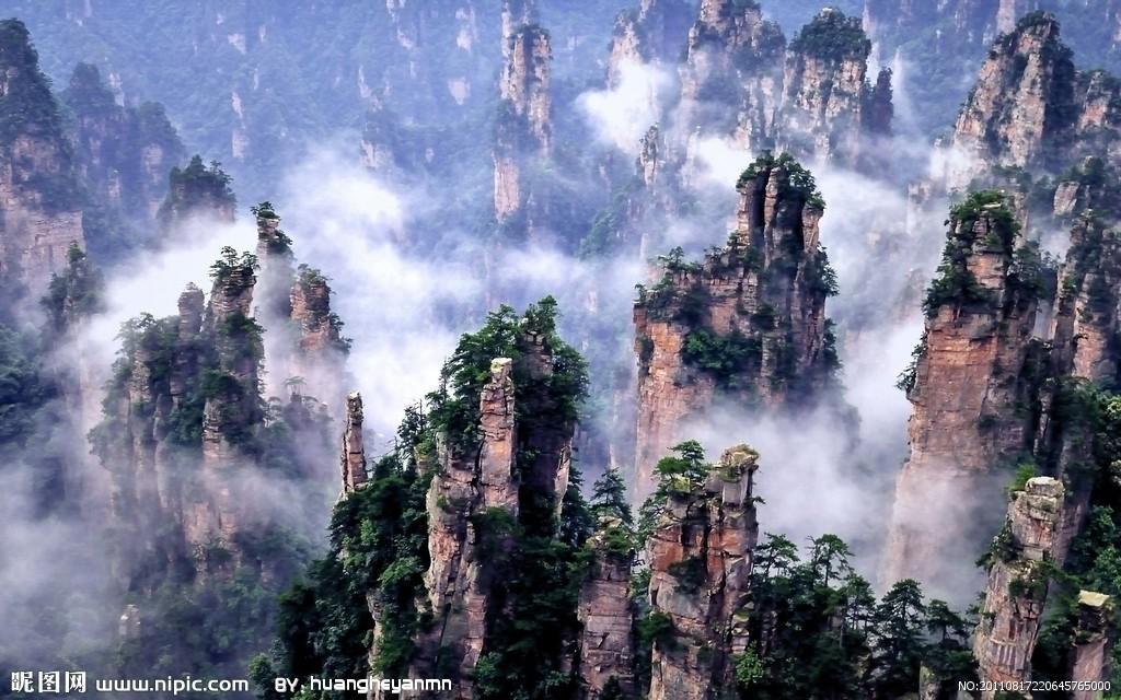溫州小張家界風景