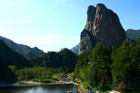 温州永嘉小若岩风景区