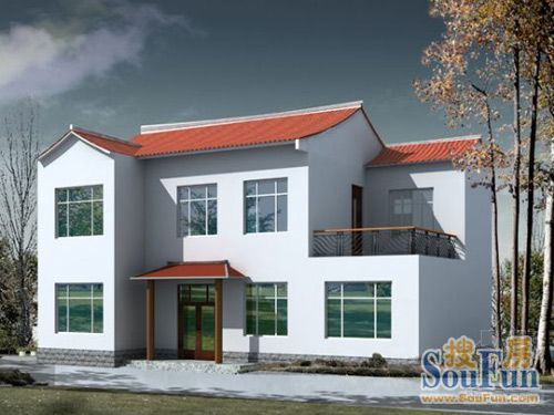 農村兩層樓房設計圖,當然也有農村別墅設計效果圖,但是農村平房裝修