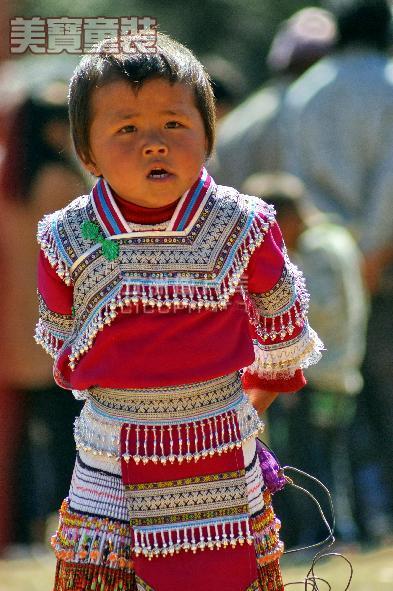 云南 少数民族儿童服饰图片