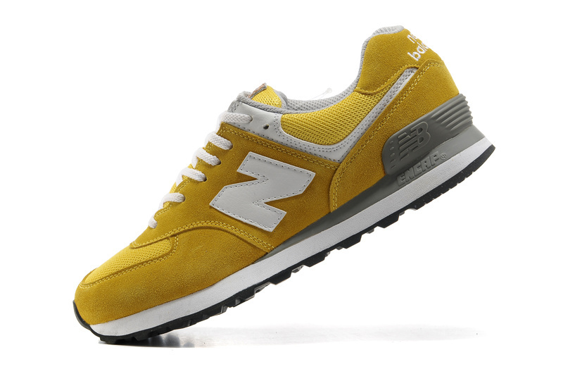new balance yellow woman