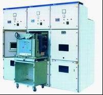 中置式开关柜,全称为金属铠装中置移开式开关设备。属于高压配电装置,最高工作电压3.6 / 7.2 / 12kV ,系三相交流50Hz单母线分段系统或双母线分段系统的户内成套配电装置。用于接受和配3.6-12kV的网络电能,并对电力电路实行控制保护、监视和测量。 中置式开关柜主要用于发电厂,中小型发电机的送电,电力系统二次变电所的受电、送电,工矿企事业单位的配电,以及大型高压电动机的起动等。