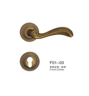 锌合金铜锁