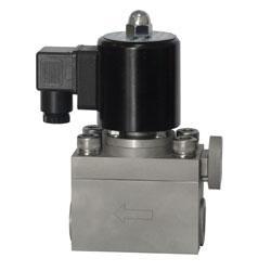 高压带手动功能电磁阀