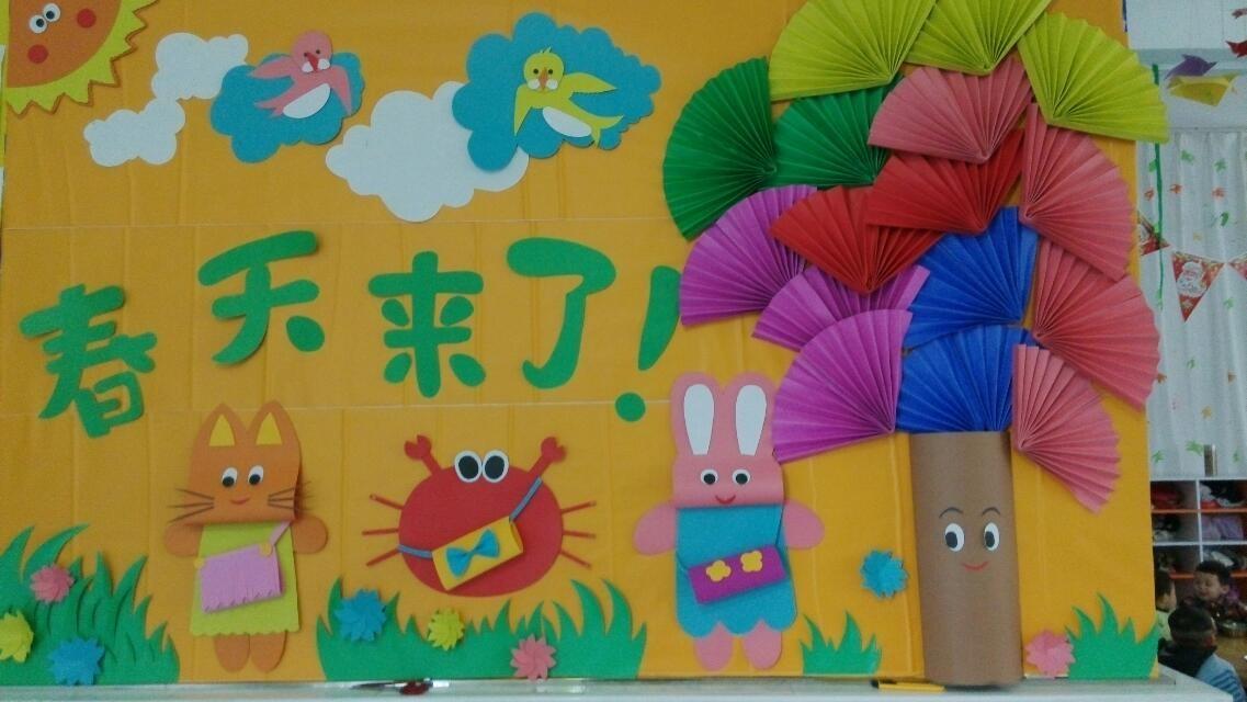 小小(2)班主题墙_宜春行政中心幼儿园