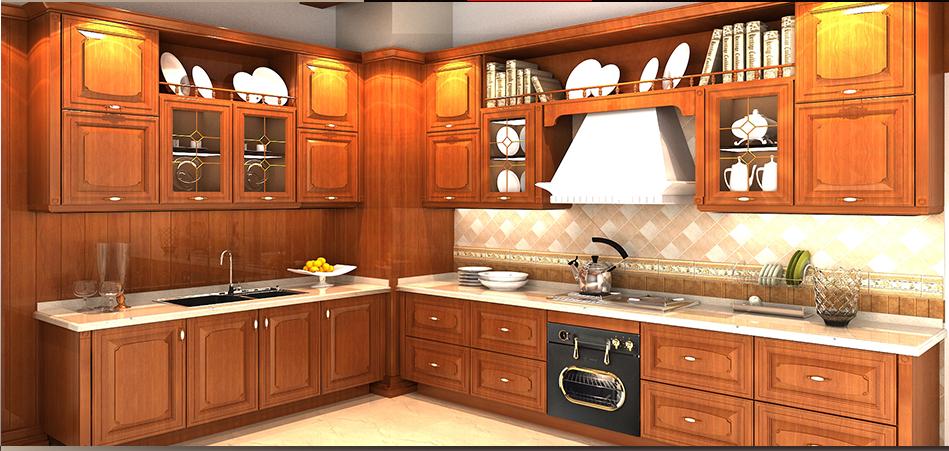 厨实木吧台效果图