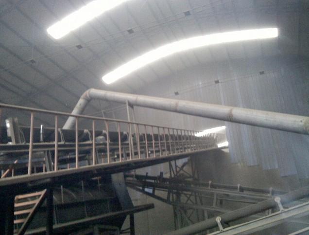 县强腾砖厂已经安装了2条破碎生产线,每条生产线安装有1台颚式破碎机