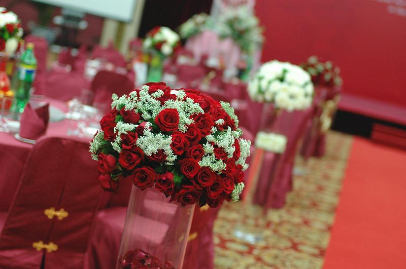 红白欧式婚礼
