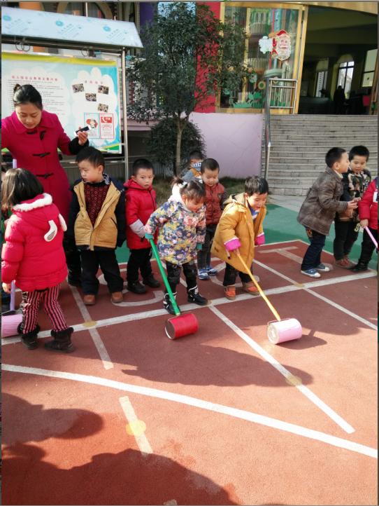 自制体育器械手推车_宜春行政中心幼儿园
