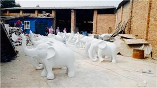 西雙版納定制-大象雕塑