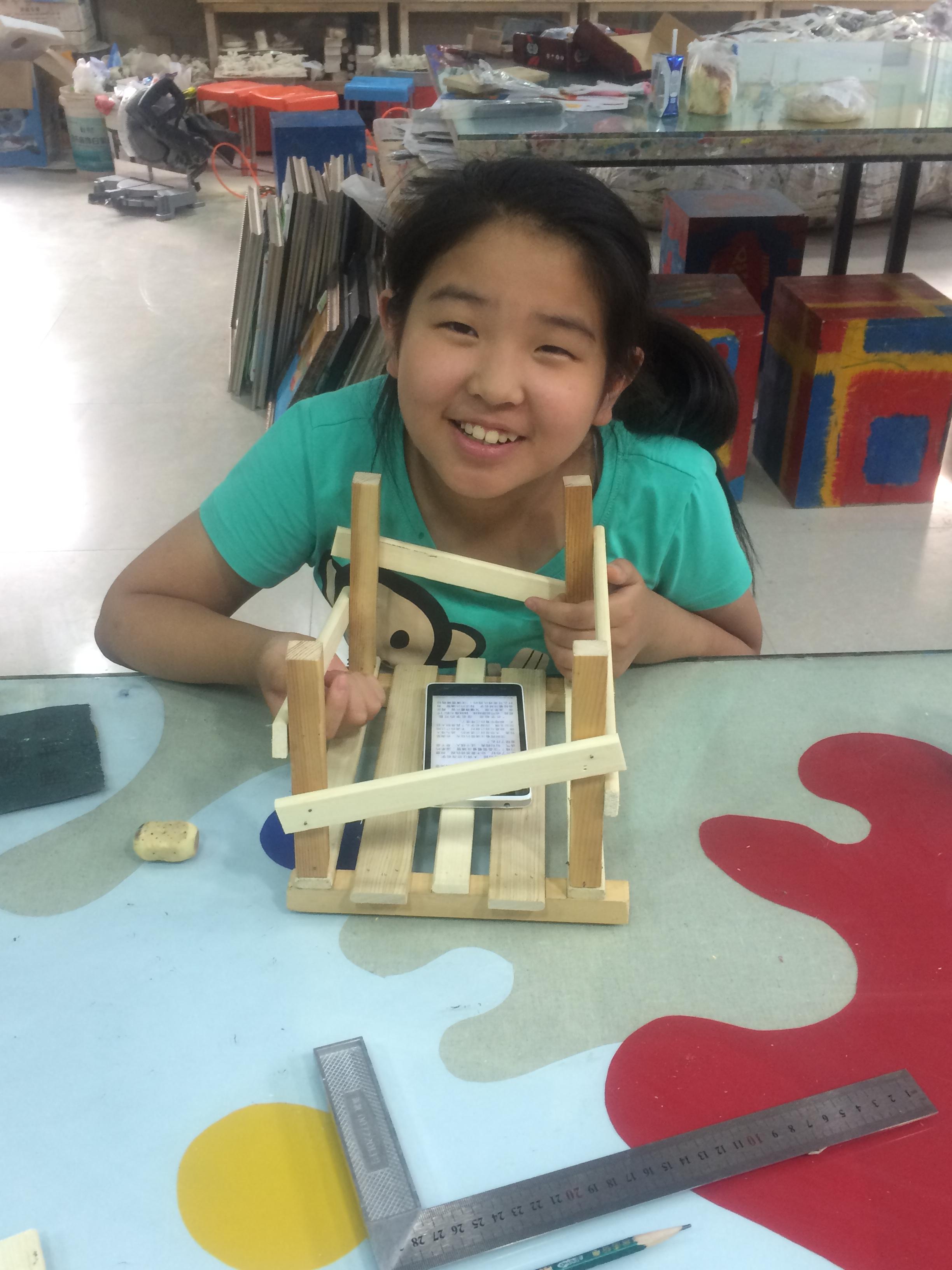 中国传统木工课程-小书架图片