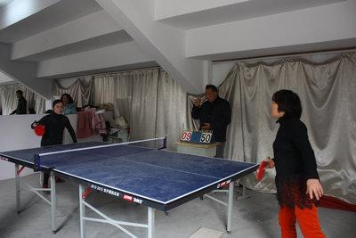 澄江中学举行教师乒乓球比赛