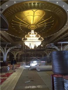 緬甸新普京娛樂城定制-玻璃鋼異形浮雕造型
