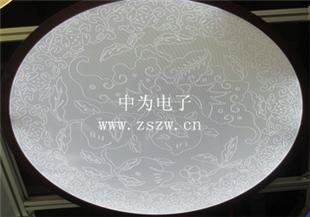 激光花纹导光板,激光雕刻导光板