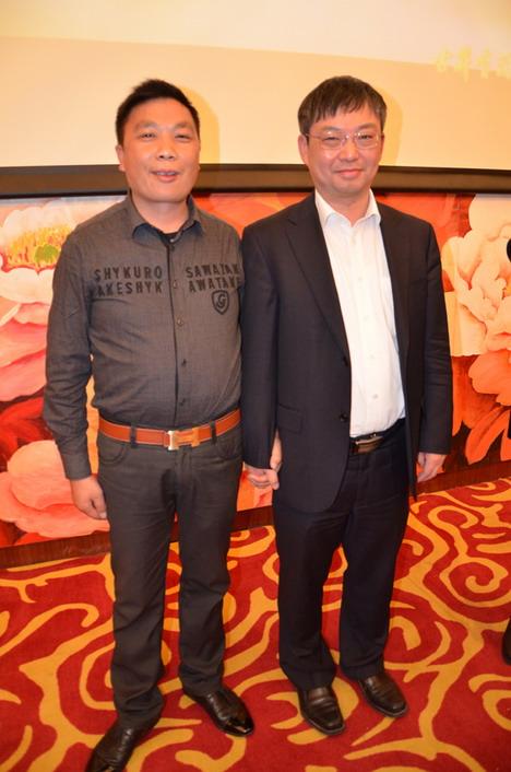 安徽省亳州市查德忠副市长亲切会见公司董事长方义华先生
