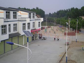 开封县袁坊新农村建设太阳能路灯