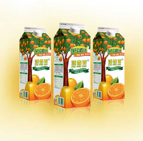 派森百NFC橙汁
