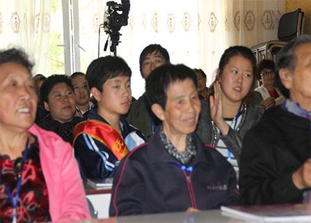 抚顺市国学文化交流协会望花分会第一届传统文化学习班开班