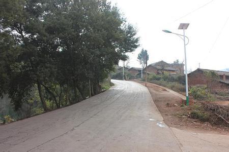密县黄帝岭太阳能路灯案例