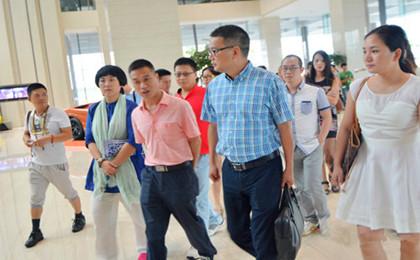 县新联会赴杭州未来科技城考察学习