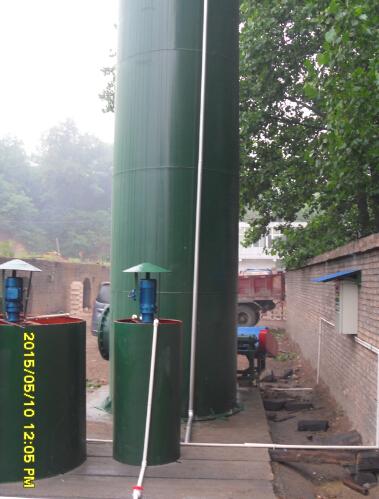 登封市太和建材厂脱硫除尘工程